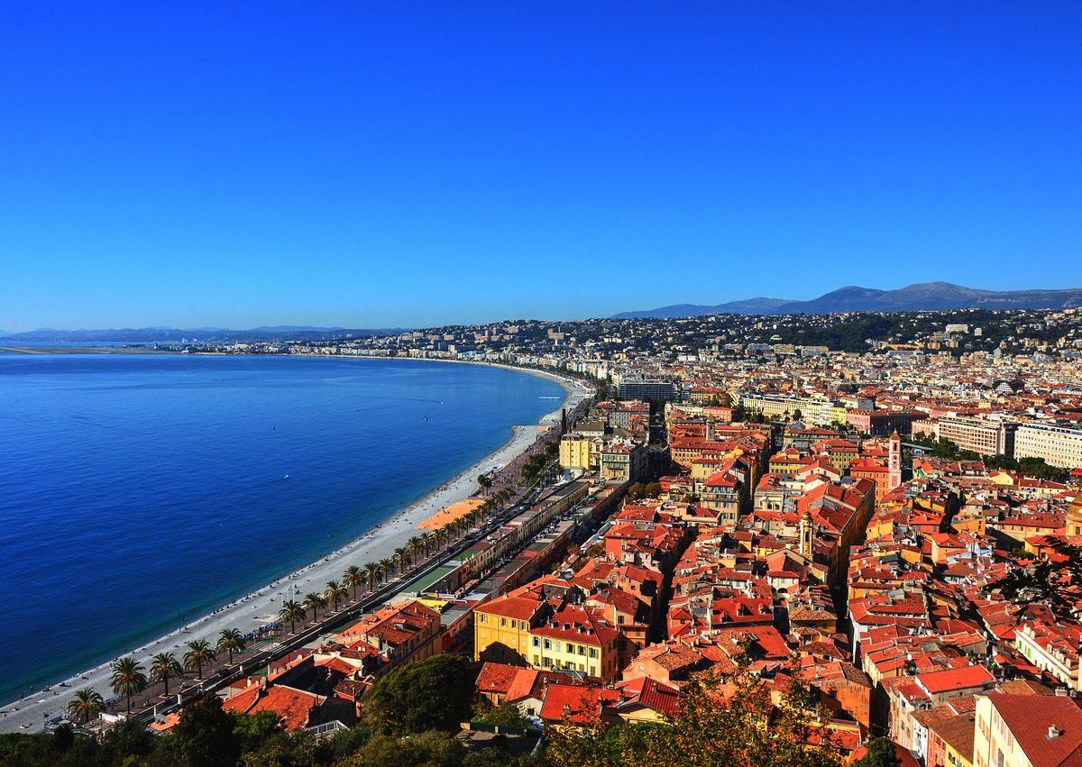 Les villes de la Côte d'Azur